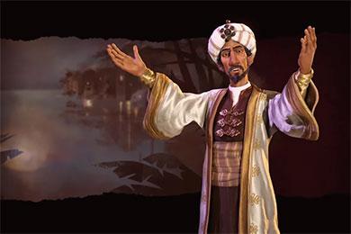 Civilization 6: Саладин - лидер Аравии