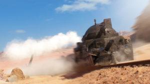 Бронепоезд из Battlefield 1 бета