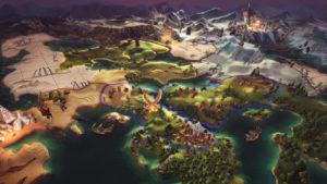 Скриншот Champions of Anteria worldmap