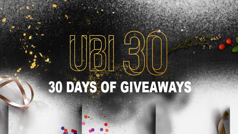 30 дней подарков ubi 22