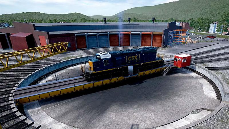 Train Sim World: CSX Heavy Haul - депо