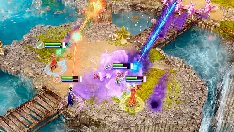 Обзор кооперативной RPG – Nine Parchments