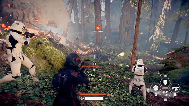 геймплей в Star Wars: Battlefront 2