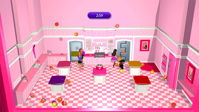 мини-игра в Barbie Dreamhouse Party